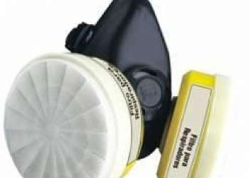 Máscara respiratória com filtro químico