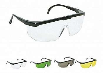 óculos de segurança transparente